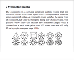 Symmetric graphs