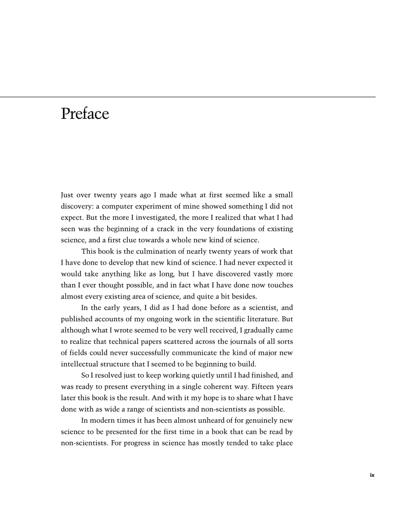 thesis preface page The thesis manual does not address all questions pertaining to style and format for the preparation of a thesis many manuals and handbooks are available for this purpose.